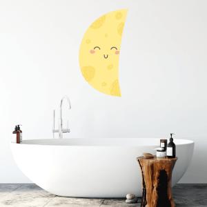 Half Moon Wall Art Sticker