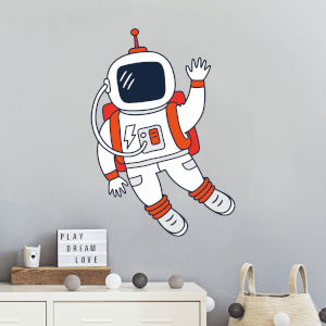 Astronaut Wall Art Sticker