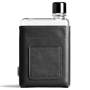 Memobottle A6 Vegan Leather Sleeve - Black