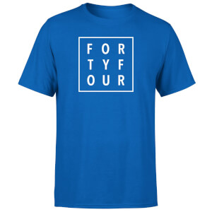 How Ridiculous Forty Four Square T-shirt - Royal Blue
