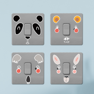 Wild Animals Light Switch Art