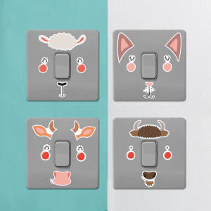 Farm Animals Light Switch Art