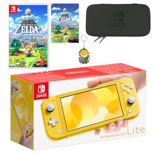 Nintendo Switch Lite (Yellow) The Legend of Zelda: Link's Awakening Pack