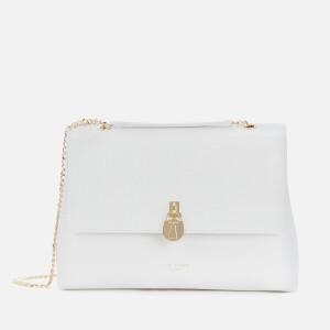 Ted Baker Women's Mayyaa Lock Shoulder Bag - White