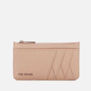 Ted Baker Women's Allexaa Zip Card Holder - Taupe