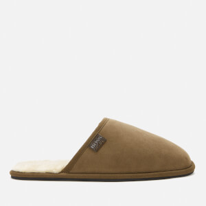 BOSS Men's Home Mule Slippers - Tan
