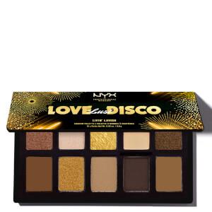 NYX Professional Makeup Love Lust & Disco Livin' Lavish Eyeshadow Palette