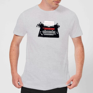 The Shining Typewriter Men's T-Shirt - Grey