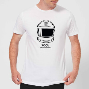 2001: A Space Odyssey Space Helmet Men's T-Shirt - White
