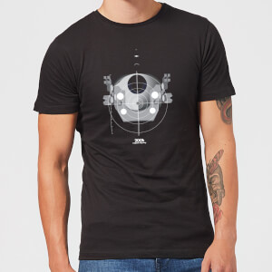 2001: A Space Odyssey EVA Pod Men's T-Shirt - Black