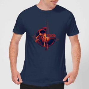2001: A Space Odyssey Retro Space Suit Men's T-Shirt - Navy