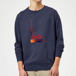 2001: A Space Odyssey Retro Logo Sweatshirt - Navy