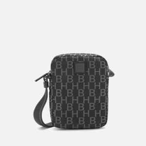 BOSS Hugo Boss Men's Pixel Monogram Cross Body Bag - Black