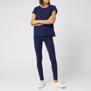 Tommy Hilfiger Women's Set CN Tee SS Leggings - Peacoat