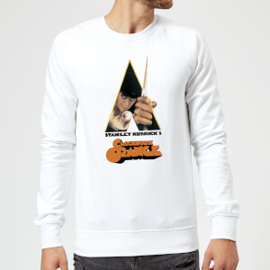 A Clockwork Orange A Clockwork Orange Poster (trim White) Sweatshirt - White