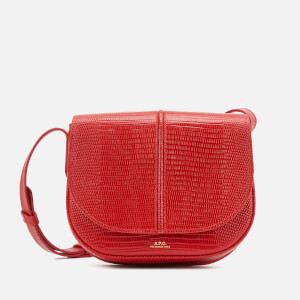 A.P.C. Women's Betty Lizard Shoulder Bag - Red