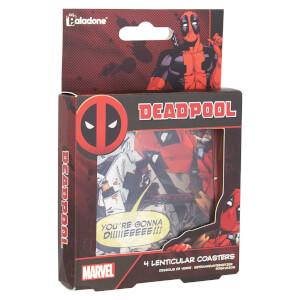 Dessous de verre Deadpool lenticulaire