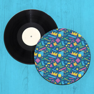 Crazy Pattern Record Player Slip Mat