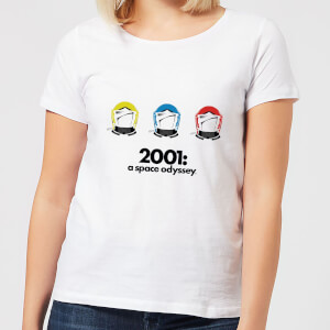 2001: A Space Odyssey Space Helmets Women's T-Shirt - White