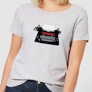 The Shining Typewriter Women's T-Shirt - Grey