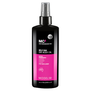 ModelCo MC2 Tan Lotion 200ml - Ultra Dark (Free Gift)