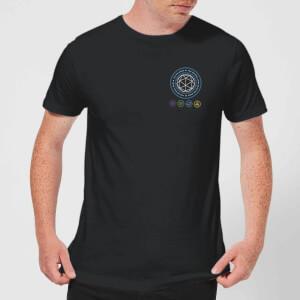 Crystal Maze Crystal Pocket Men's T-Shirt - Black