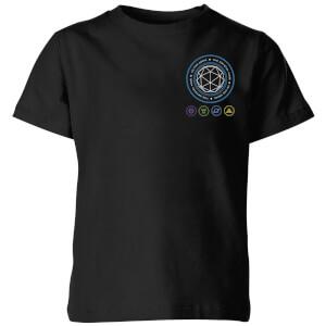 Crystal Maze Crystal Pocket Kids' T-Shirt - Black