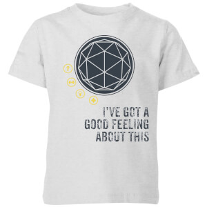Crystal Maze I've Got A Good Feeling About This- Industrial Kids' T-Shirt - Grey