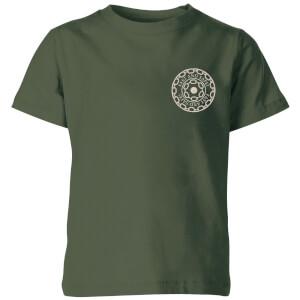 Crystal Maze Fast And Safe Pocket Kids' T-Shirt - Forest Green