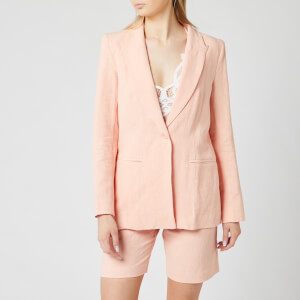 Bec & Bridge Women's Coral Club Jacket - Peach