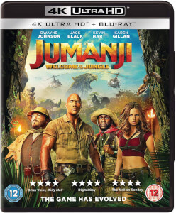 Jumanji: Welcome To The Jungle - 4K Ultra HD (Includes Blu-ray)