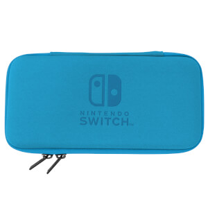 Nintendo Switch Lite Hard Pouch (Blue/Grey)
