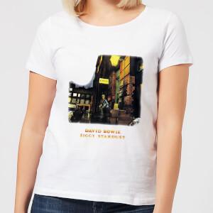 David Bowie Ziggy Stardust Women's T-Shirt - White