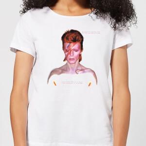 David Bowie Aladdin Sane Cover Women's T-Shirt - White