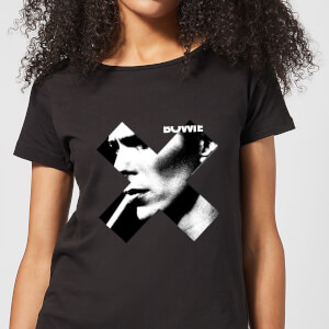 David Bowie X Smoke Women's T-Shirt - Black