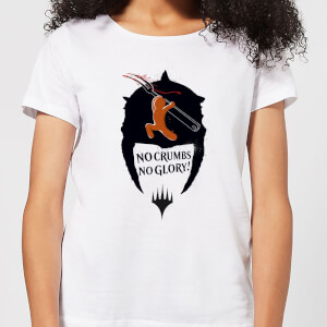 Magic The Gathering Throne of Eldraine Gingerbread Slayer Women's T-Shirt - White