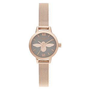 Olivia Burton Women's Mini Dial 3D Bee Watch - Gold