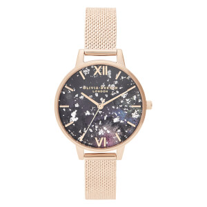 Olivia Burton Women's Celestial Mesh Watch - Rose Gold