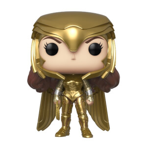 Figura Funko Pop! - Wonder Woman Gold Power (Metálico) - Wonder Woman 1984