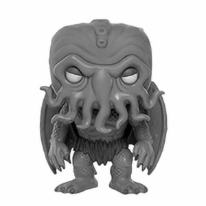 Figura Funko Pop! - Chtulu (Blanco Y Negro) Exclusivo - H.P. Lovecraft
