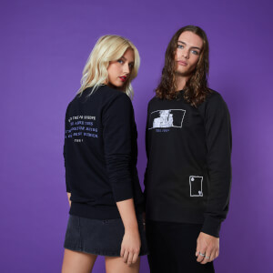 No Hope Club Unisex Sweatshirt - Black