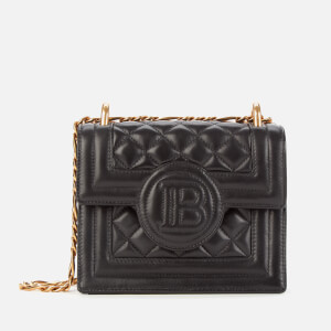 Balmain Women's Buzz Quilted Leather Bag - Black