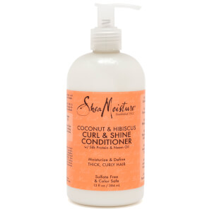 Shea Moisture Coconut & Hibiscus Curl and Shine Conditioner 384ml