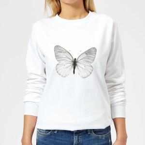 Butterfly 2 Women's Sweatshirt - White