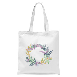 Flower Spring Reef Tote Bag - White