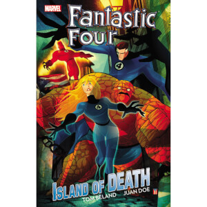 Marvel Fantastic Four Island Of Death Trade Paperback