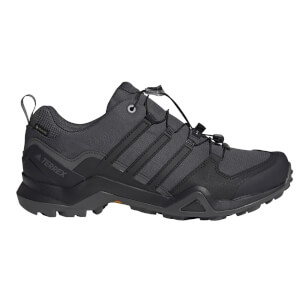 adidas Men's Swift R2 Goretex Hiking Shoes - Grey/Core Black