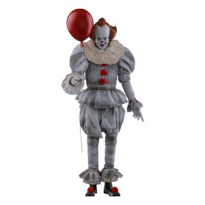 Action figure 1:6 di Pennywise, IT: Capitolo Due, Movie Masterpiece, Hot Toys, 32 cm