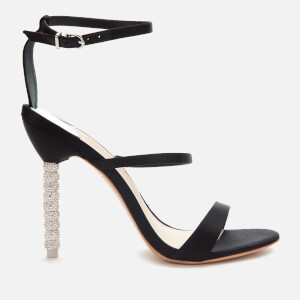 Sophia Webster Women's Rosalind Crystal Triple Strap Heeled Sandals - Black