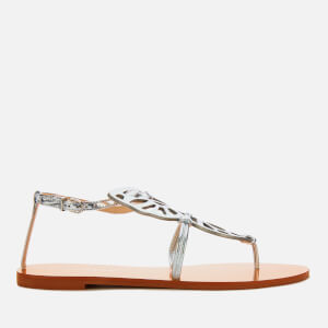 Sophia Webster Women's Butterfly Flat Sandals - Rose Gold/Silver